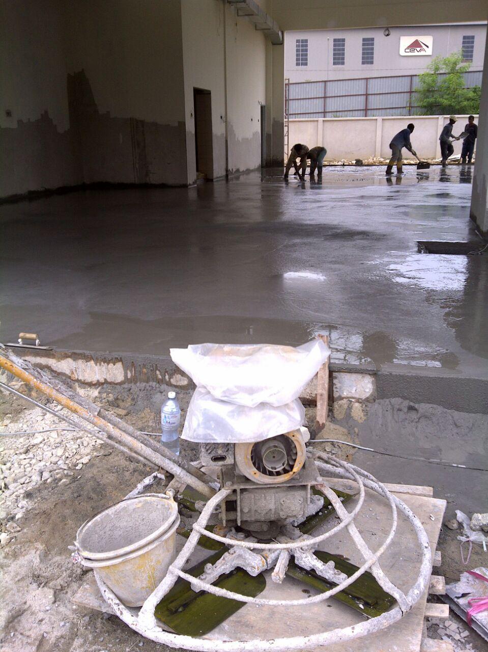 floor hardener contractor